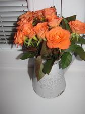 aj ruže som dostala :-)
