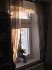 vynovené okno v kuchyni...