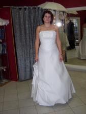 Zkouška svatebních šatů 17.1.2008