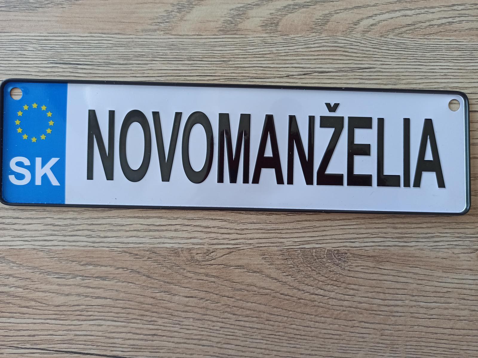 Nová ŠPZ - Obrázok č. 1