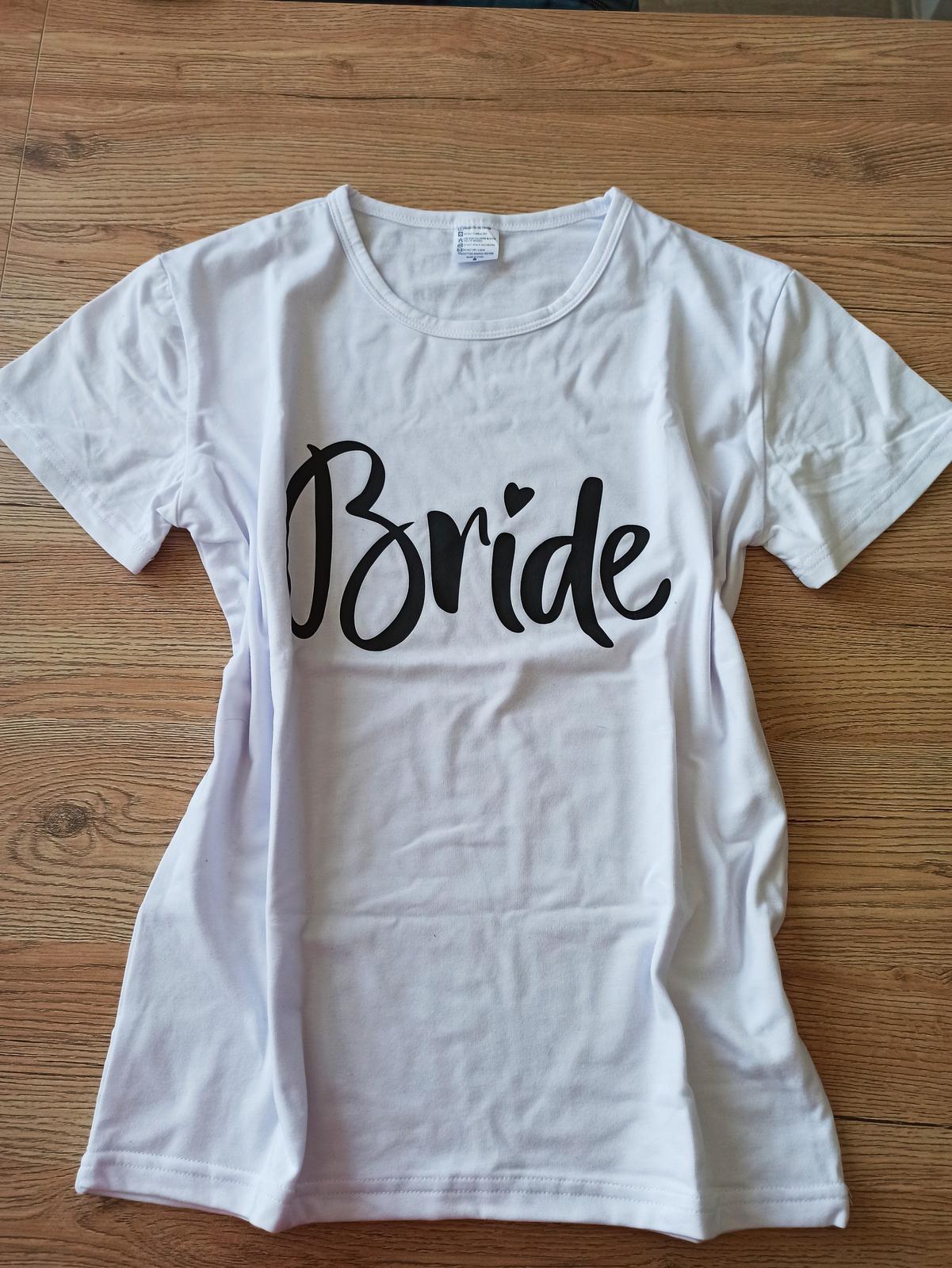 Tričko Bride - Obrázok č. 1