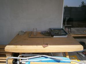 Pred úpravou: Stôl určený na spálenie :-((((((