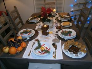 Štedrovečerný stôl
