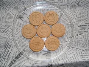 Víkend pomaly končí, tak nech vám je počas celého týždňa veselo .-)))  /maslové keksíky s ovsenými vločkami/
