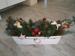 Môj vianočný kvetináč č. 2
