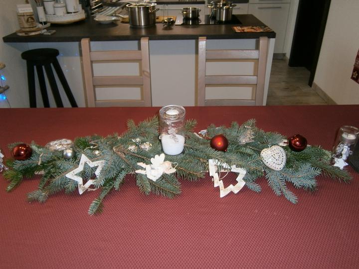 Pokus o vianočnú výzdobu stola