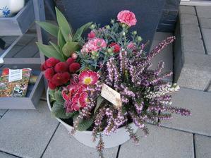 Aranžované v kvetinárstve