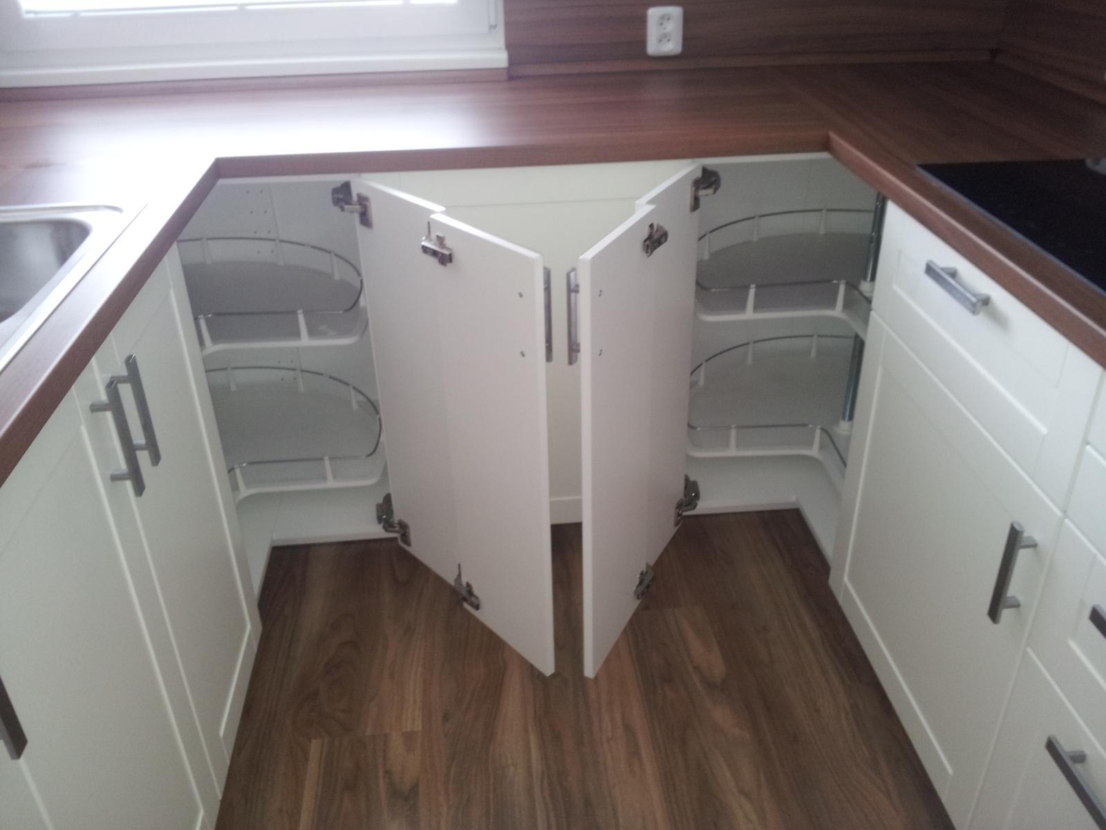 Montáž kuchynskej linky IKEA a dodávka  pracovných dosiekdosky EGGER - Obrázok č. 1