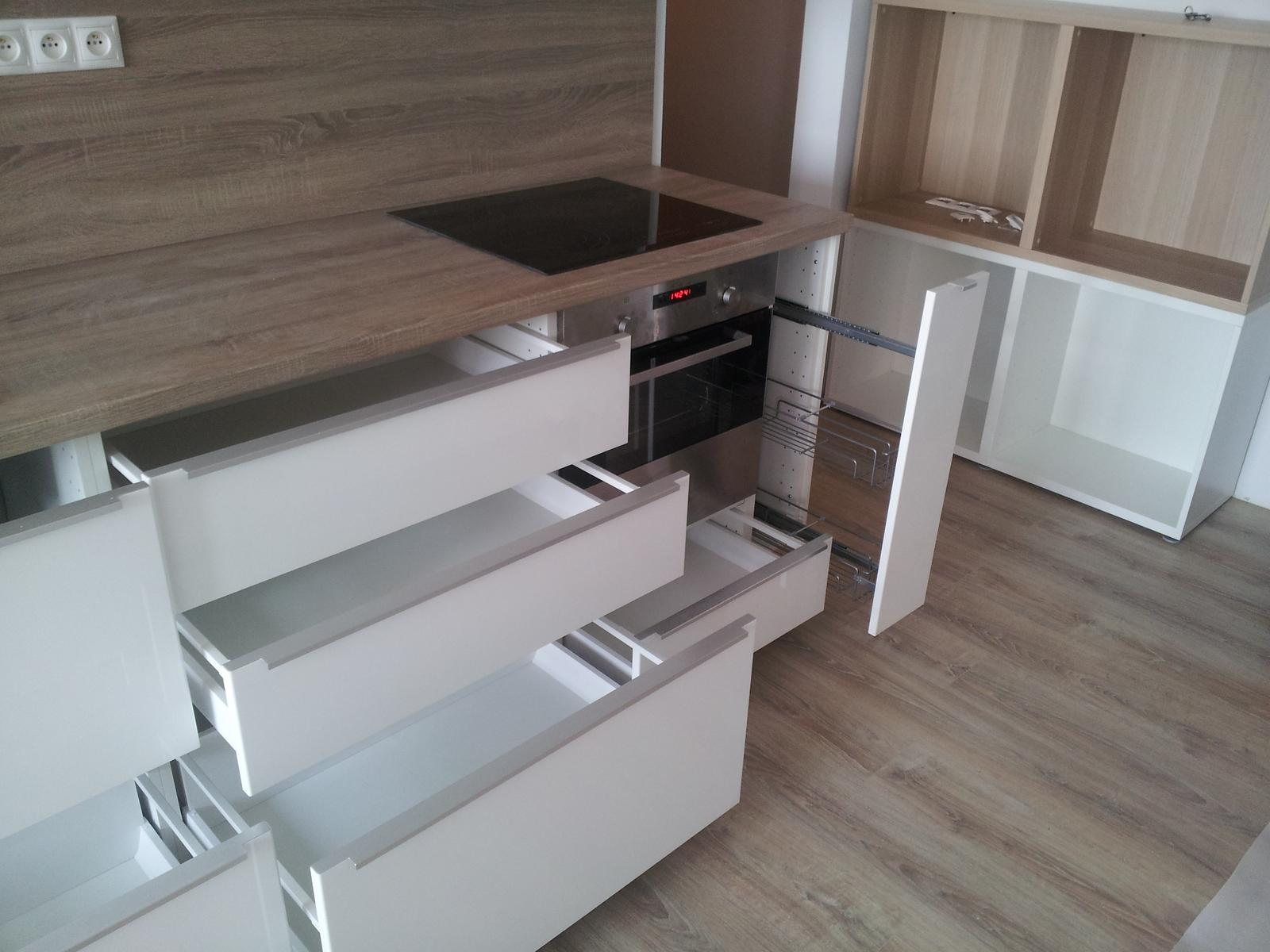 Montáž kuchynskej linky IKEA (Bratislava). - Obrázok č. 10