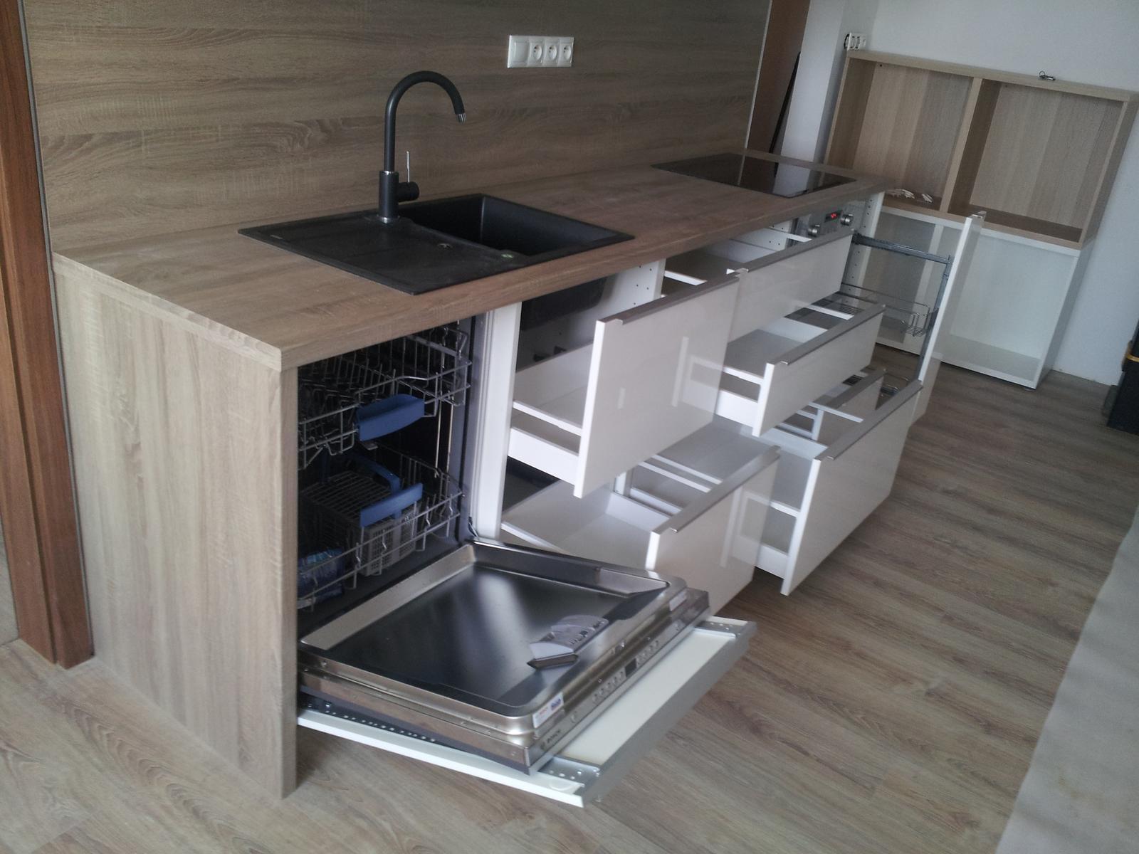 Montáž kuchynskej linky IKEA (Bratislava). - Obrázok č. 11