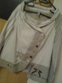 dámsky kabátik alebo sako v štýle desigual, XL