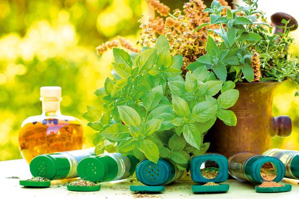 Bylinky a ovocie...receptíky z nich - Namiešajte si zmes byliniek na varenie