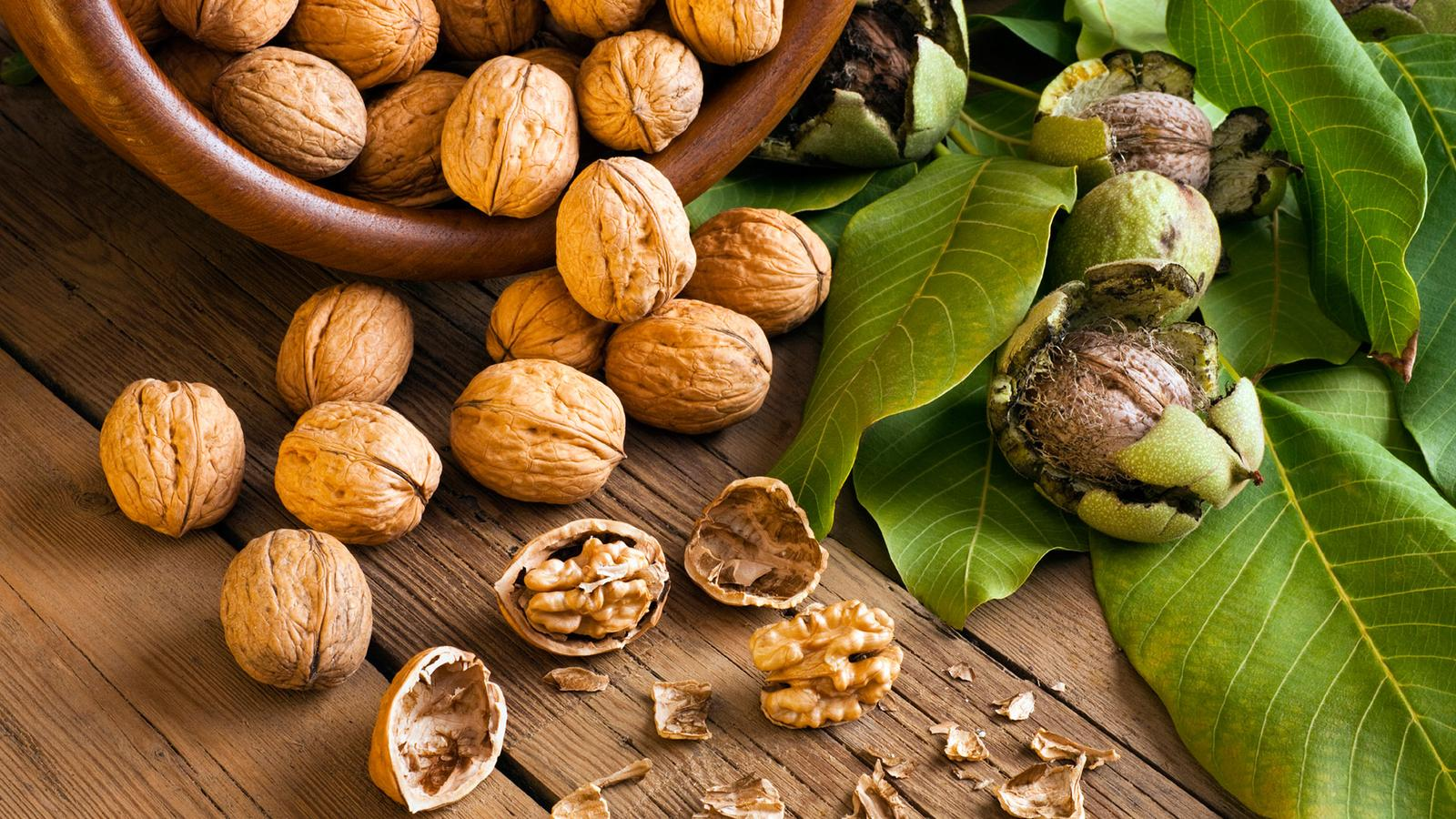 Bylinky a ovocie...receptíky z nich - Vlašský orech