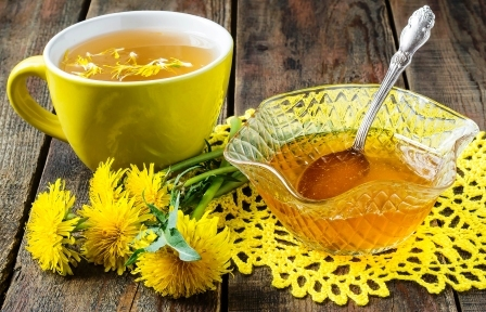 Bylinky a ovocie...receptíky z nich - Púpavový med
