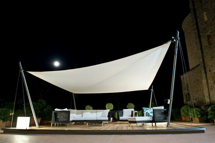 Exterier - Slnečné Plachty a Pergoly - Outdoor living space - Velombra