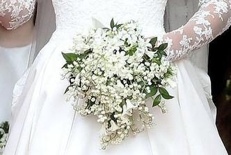 Svatební kytice vévodkyně Kate - konvalinky,hyacint,myrta