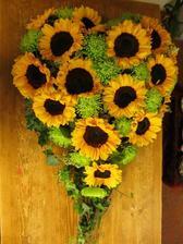 slunečnicovo-chryzantémové srdce