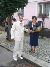 ženich s mojí milovanou babičkou
