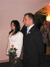 svědci - sestra Edita a kamarád Ital Luciano