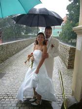 pršelo nám štěstí :-)
