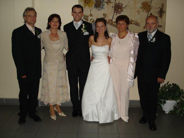 Vierka{{_AND_}}Petrík - s rodičmi