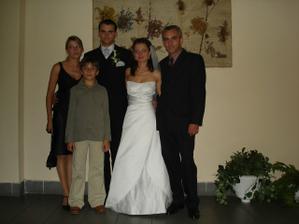 moja sesternica Mirka s manželom a synom