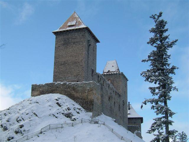 Ája - Kašperk zimní pohled