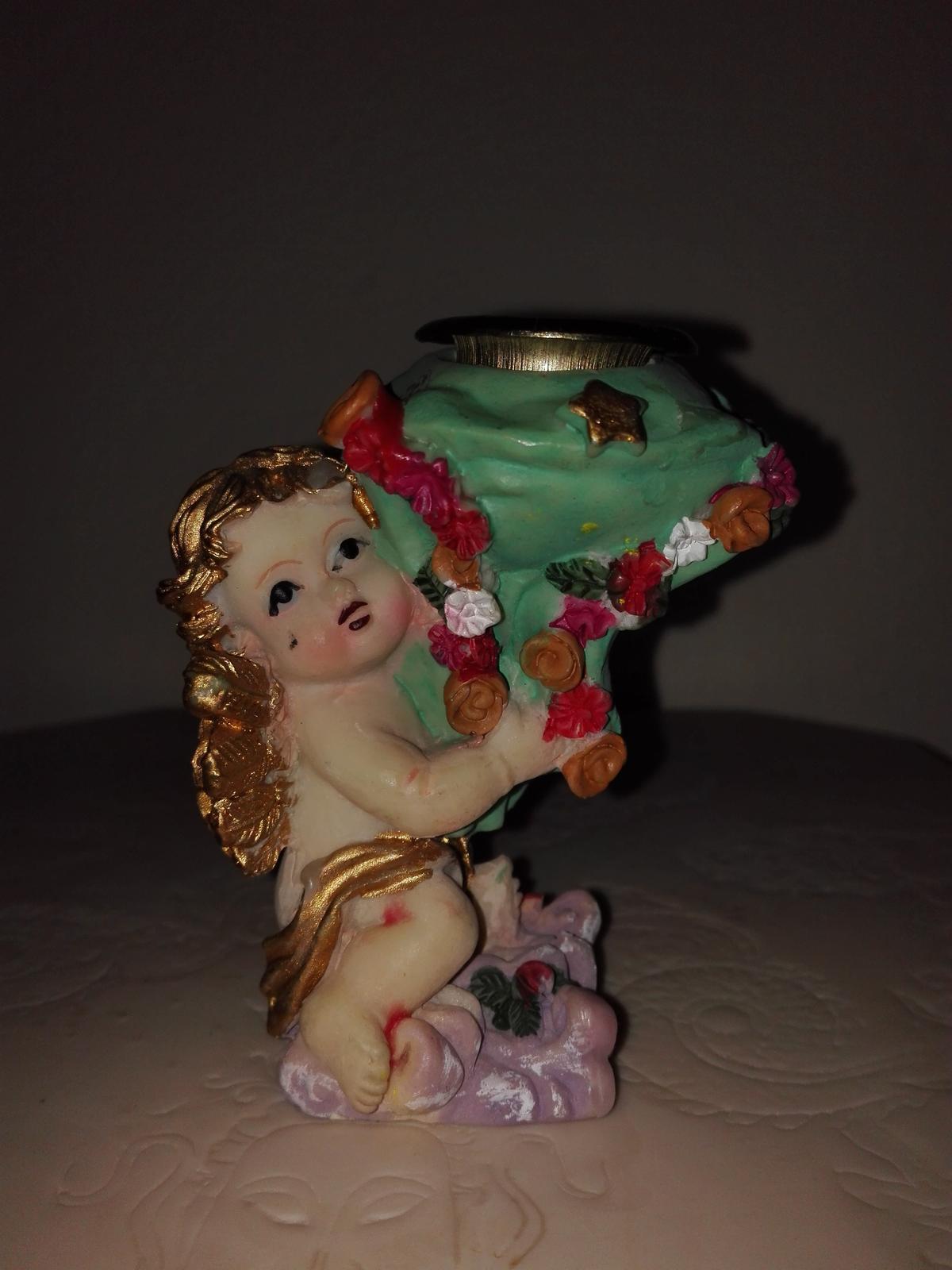 Anjelik na sviečku - Obrázok č. 1