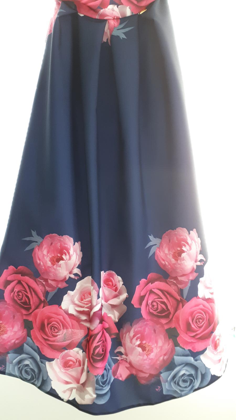 Dlhá kvetovaná sukňa - Obrázok č. 2