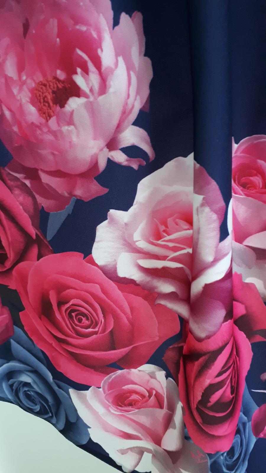 Dlhá kvetovaná sukňa - Obrázok č. 3
