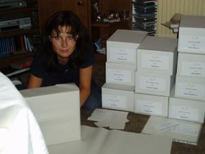 Krabicky pro hosty na vysluzky
