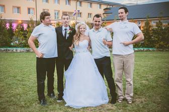 kameraman Kamzo, Jakub, Veronika, fotograf Paťo, kameraman Andrej :) top zostava!!! proste najlepší :)