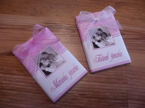 Nááádherné čokoládky od moc šikovné paní Jany Šíchové-Majerové...Vřele doporučuji;)