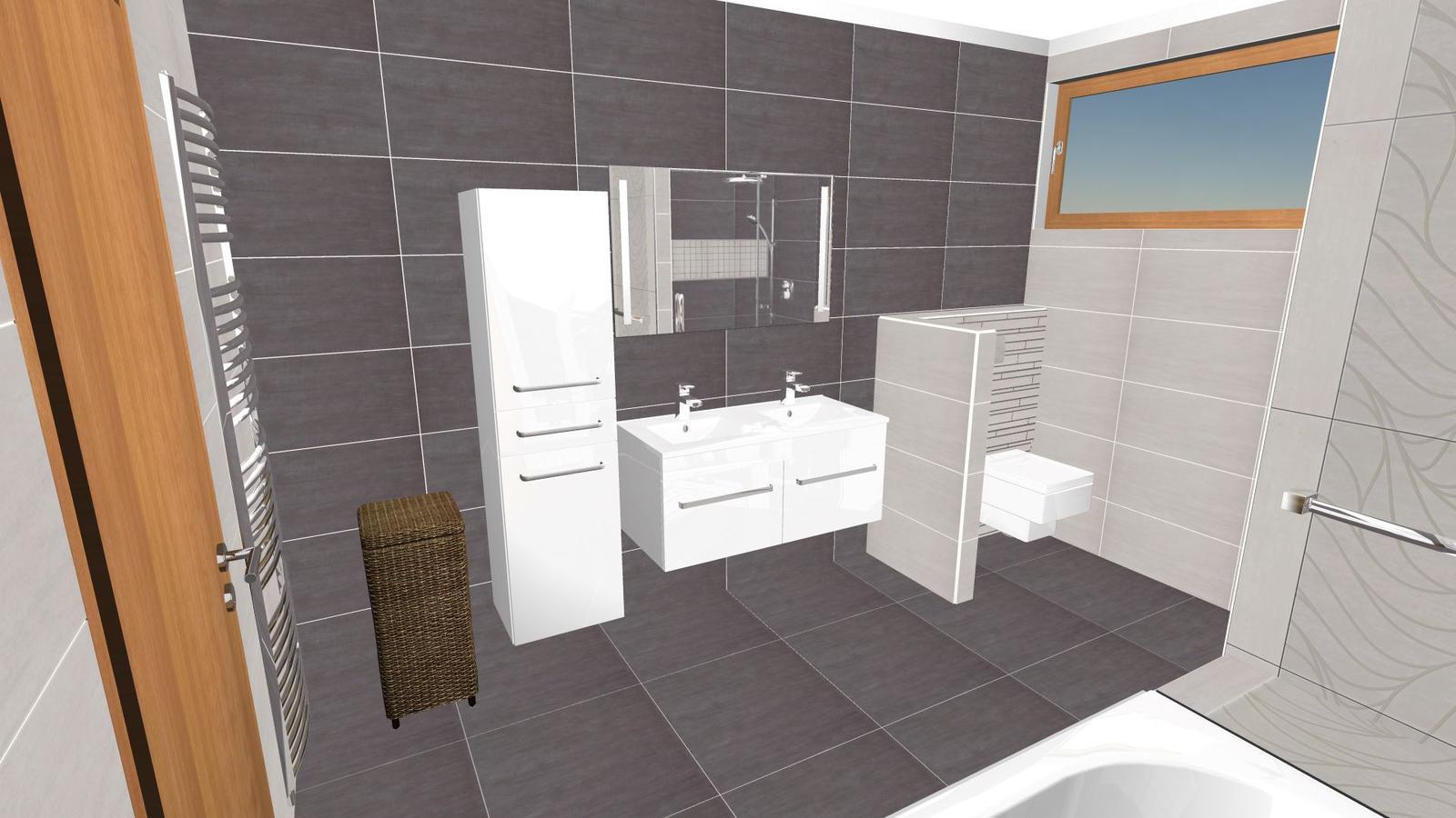 Vizualizace koupelny - Obrázek č. 1
