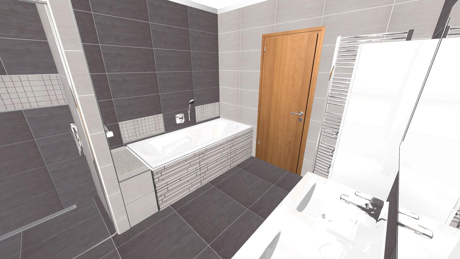 Vizualizace koupelny - Obrázek č. 2