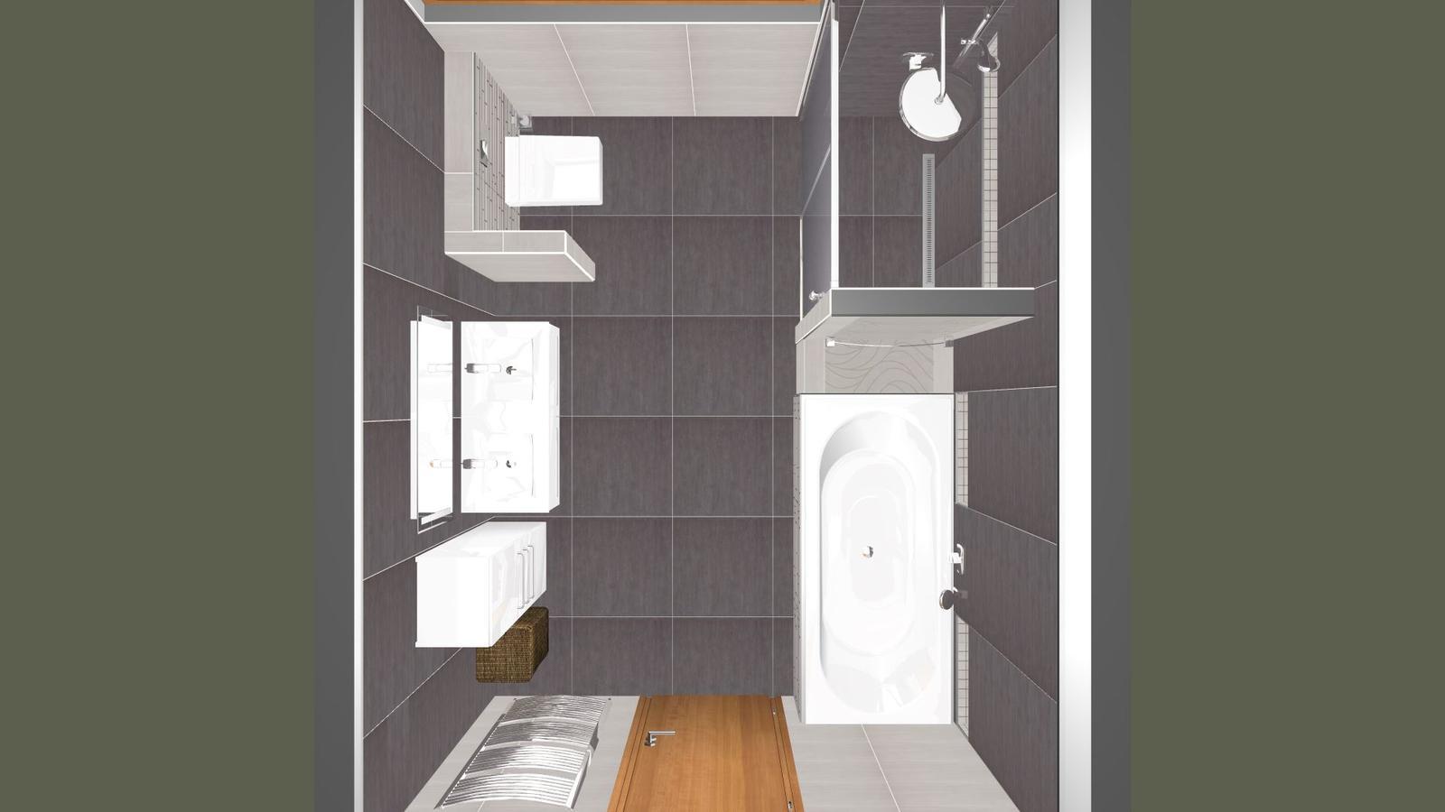 Vizualizace koupelny - Obrázek č. 3