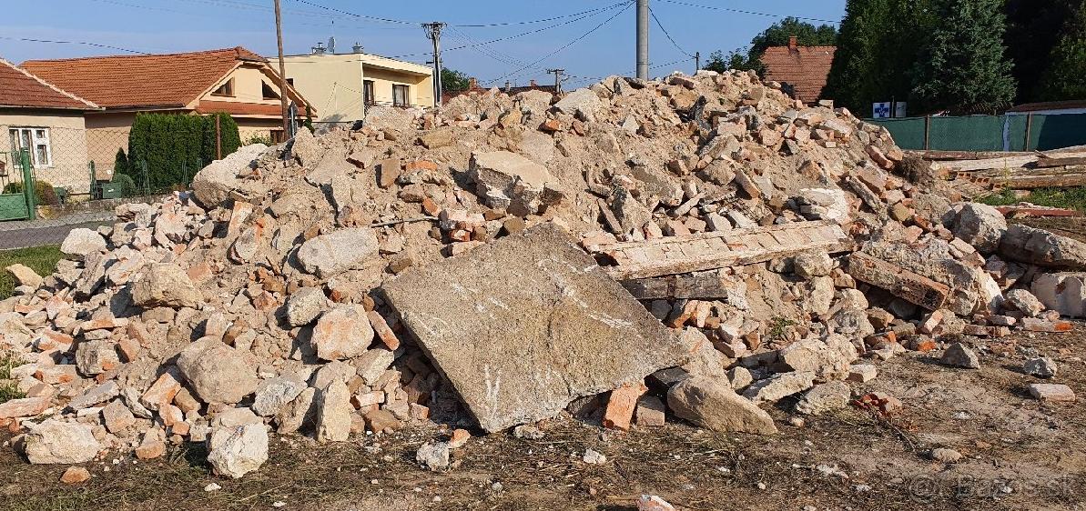 stavebný odpad, sut, sutina - Obrázok č. 1