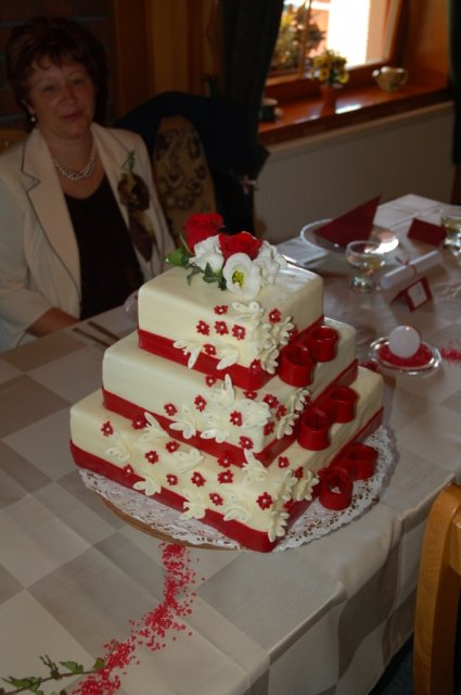 Zuzka a Ferko - krasna torta(sorry copy)