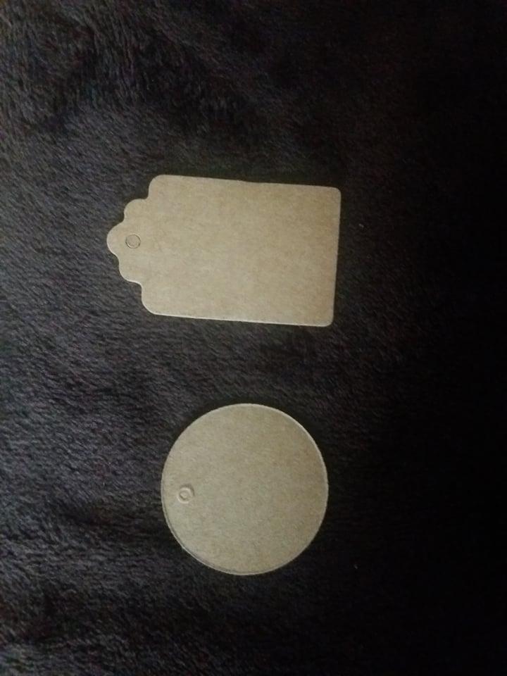 visačky z recykl.papiera  - Obrázok č. 2