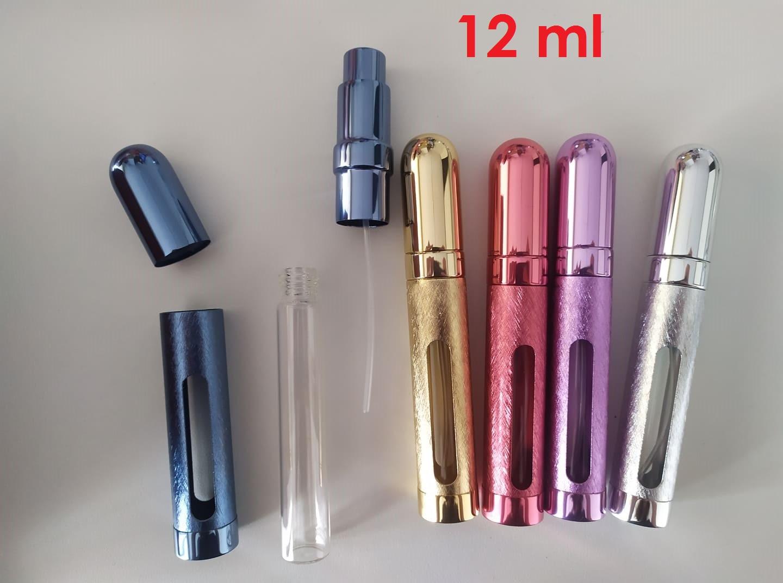 Plniteľný rozprašovač parfémov - rôzne veľkosti - Obrázok č. 4