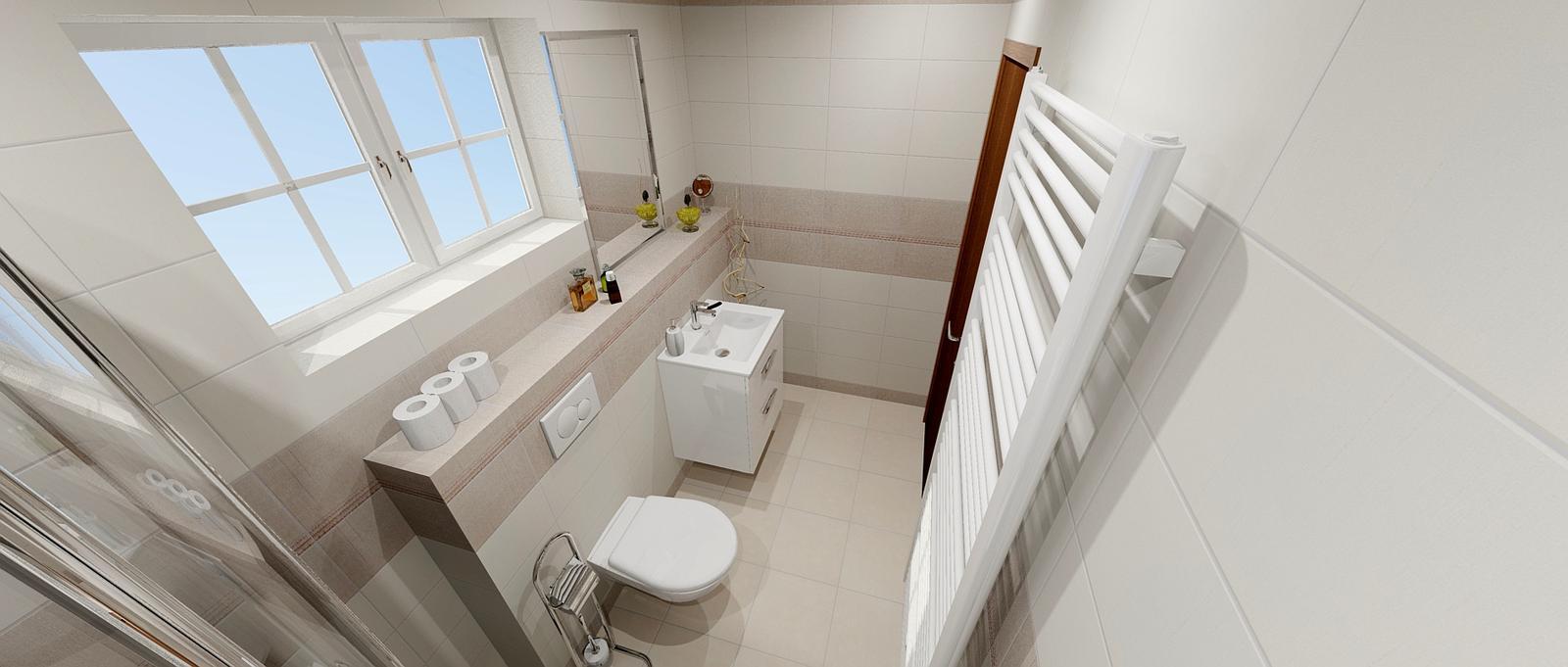 Koupelny - Dolní koupelna