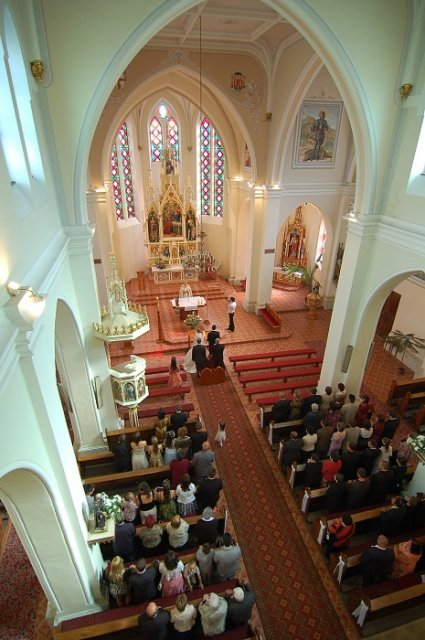 Maťka a Imi - kostolík v ktorom si povieme áno