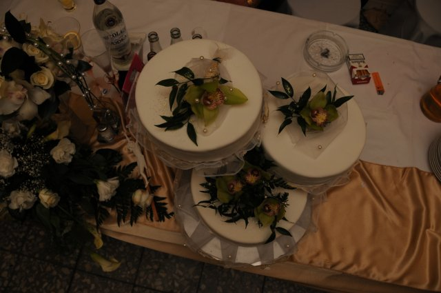 Maťka a Imi - naša svadobná torta