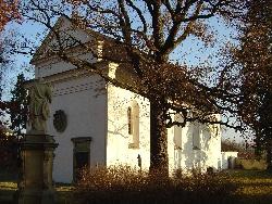 Mariánský kostelík v Opočně - tak tady se to bude nejspíš odehrávat