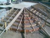 šalovanie oblukovych schodov - Vynohrady nad Váhom
