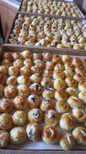 Svatebni kolacky - tvarohove, orechove, povidlove a makove