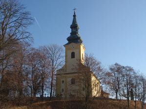 Misto obradu - kostel Nanebevzeti Panny Marie