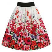 Folklorní sukně s květy, 40
