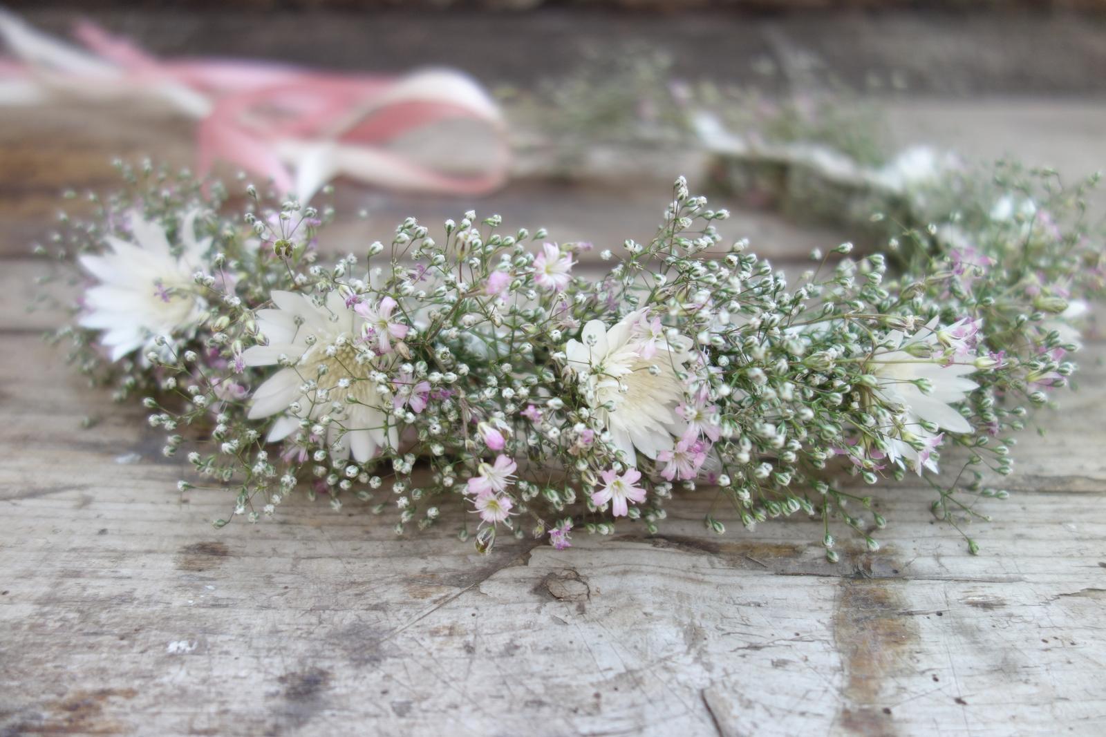 Silvia Pavlechová - kvetinové šperky pre nevestu - Obrázok č. 2
