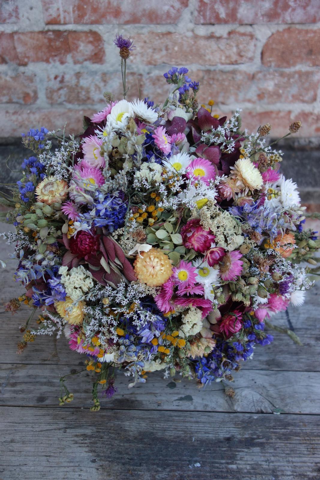Moje svadobné kytice zo sušených kvetov rok 2019 - Obrázok č. 1
